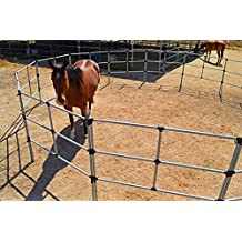 Portable Horse Corral Box Set: EconoLine- 14 Panels; 3 Rails
