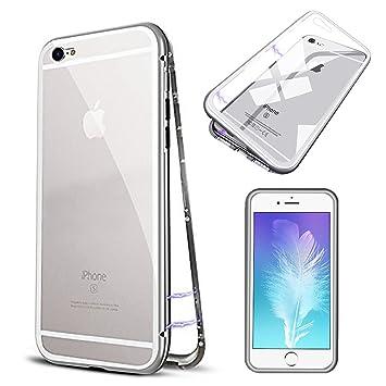 SpiritSun Funda iPhone 6 / 6S, Transparente Carcasa Duro PC ...