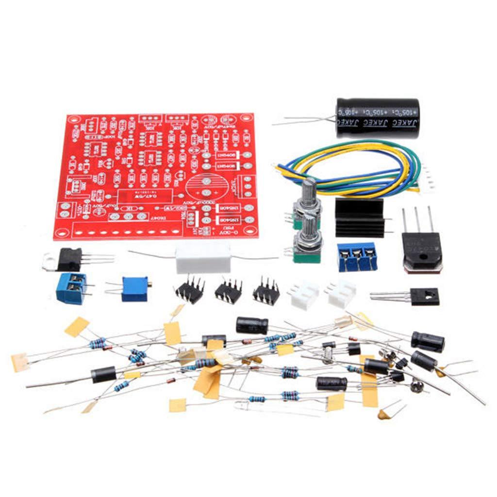 F Fityle 0-30V 2mA-3A regelbar DC geregelt Netzteil DIY-Kit Kurzschluss Strombegrenzung Schutz