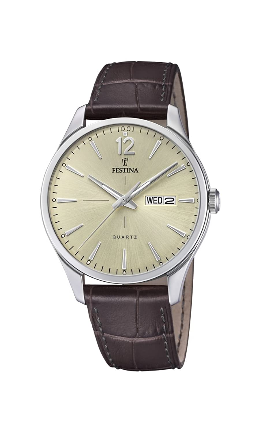 Amazon.com: Festina Retro F20205/1 Mens Wristwatch Classic & Simple: Watches
