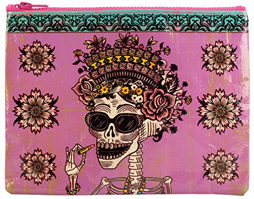 Blue Q Day of the Dead Zipper Pouch