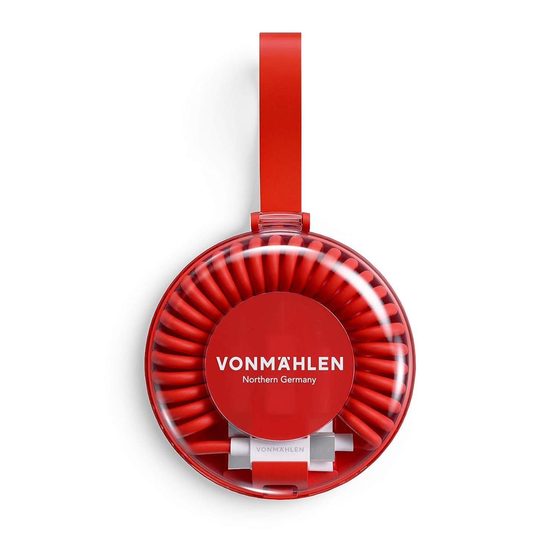 USB-C Micro-USB USB-A VONM/ÄHLEN allroundo Multi Cavo in Rosso con 5 connettori Universale /& Flessibile 6in1 Multi Cavetto a Spirale Universale con Adattatore per Qualsiasi Dispositivo Mobile