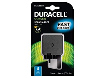 Duracell DRACUSB2-UK - Cargador (Interior, Corriente alterna ...