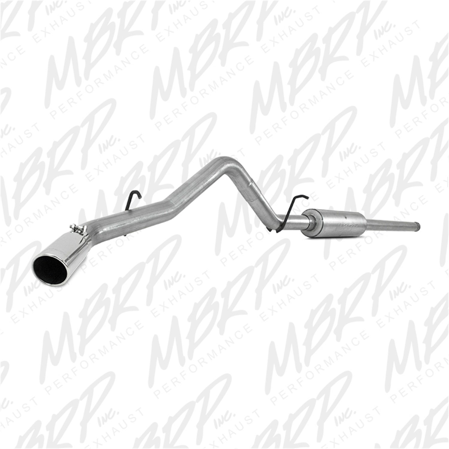 MBRP S5080AL 3'' Cat Back, Single Side Exit Exhaust System (Aluminized Steel)