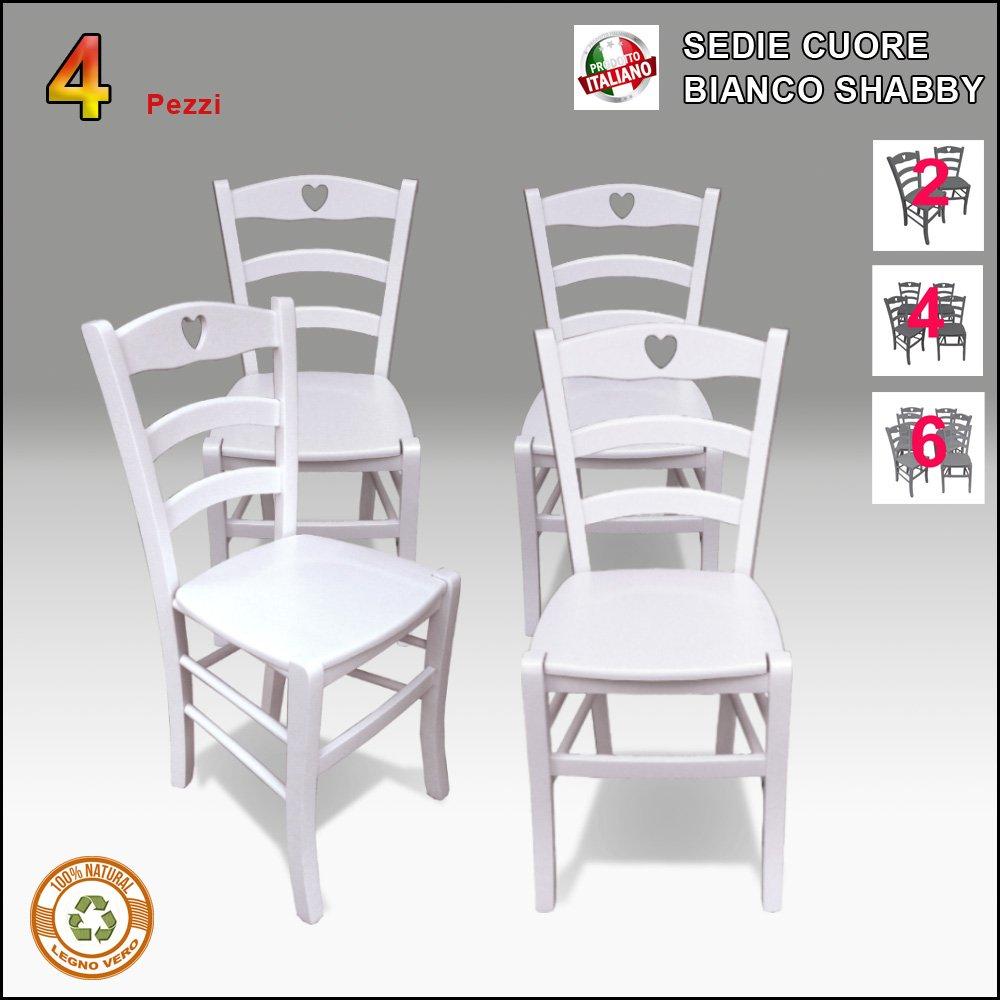 Sedie stile shabby gu33 regardsdefemmes for Mondo convenienza sedie in legno