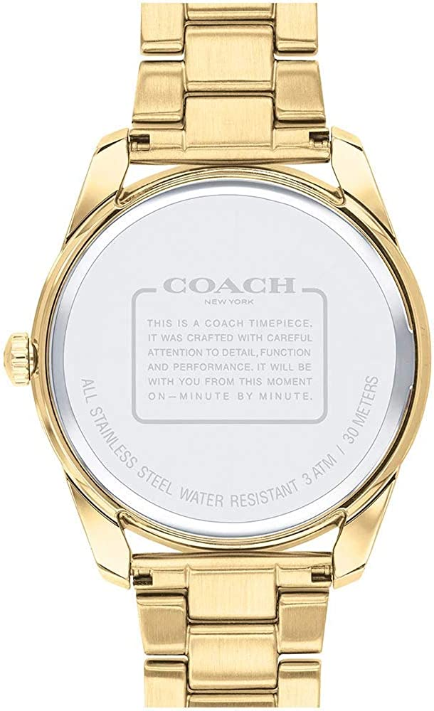 Coach Preston 14503266 pour Femme Plaqué Or