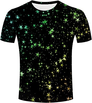 3D Printed T Shirts Different Trees On Dark Casual Mens Hipster Top Tees