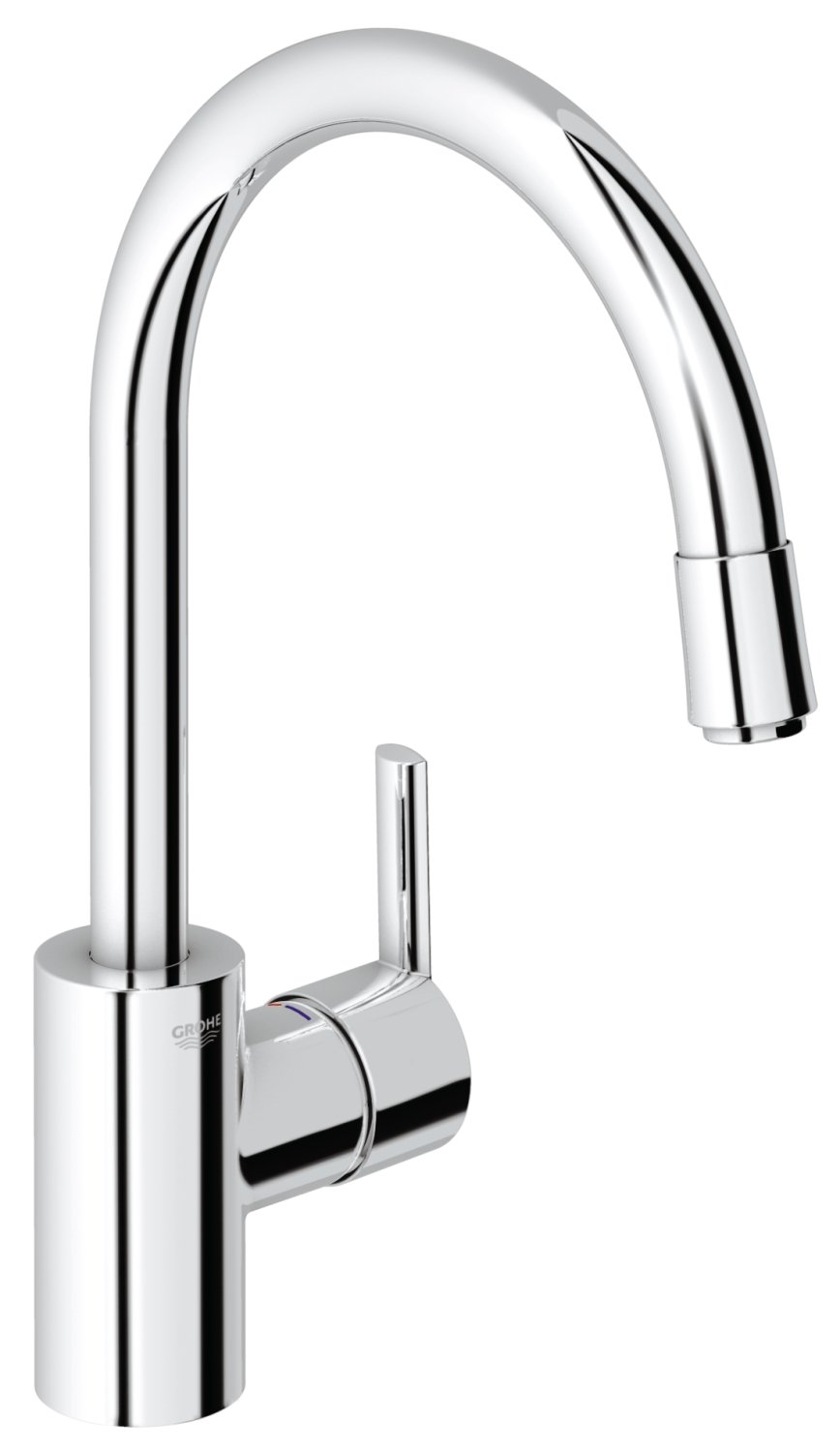 GROHE 32671000 | Feel Kitchen Tap | Pull-Down Spray: Amazon.co.uk ...
