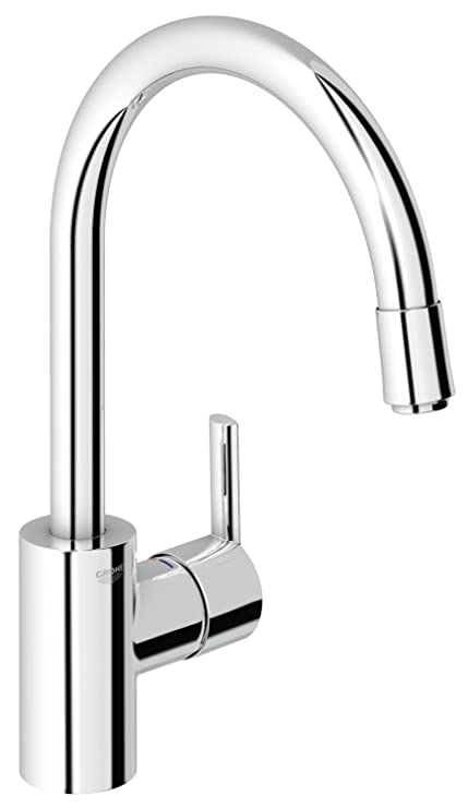 Grohe 32671000 Feel Kitchen Tap Pull Down Spray Amazon Co Uk
