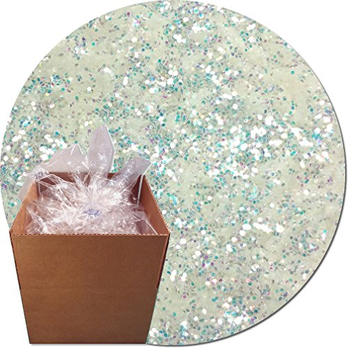 Glitter My World! Craft Glitter: 25lb Box: Ghost Iridescent by Glitter My World!
