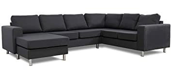 venore - moderno esquina Chaise - cómodo sofá - sofá de ...