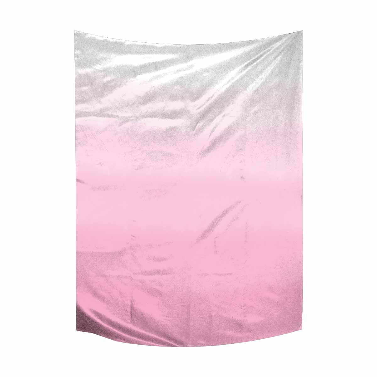InterestPrint Abstract Pink Ombre Gradient Watercolor Tapestry Wall Hanging Hippy Tapestries Beach Throw College Dorm Decor, 60W X 80L inch