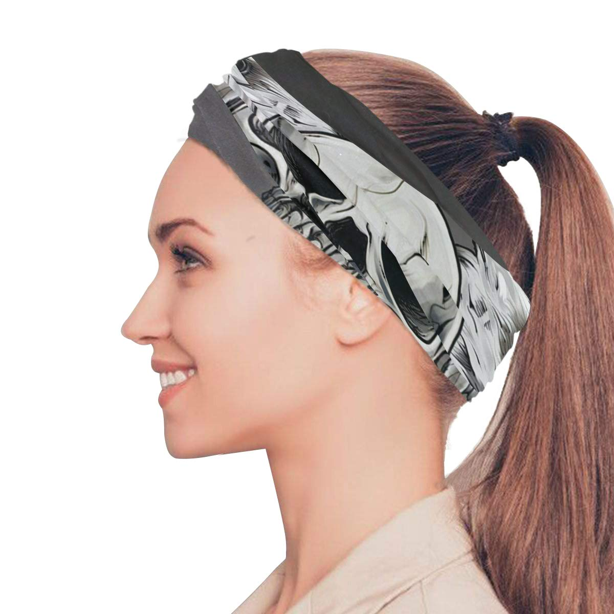 Magic Headwear Eagle Effect Outdoor Scarf Headbands Bandana Mask Neck Gaiter Head Wrap Mask Sweatband