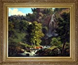 The small gorge at Tivoli (oil painting)