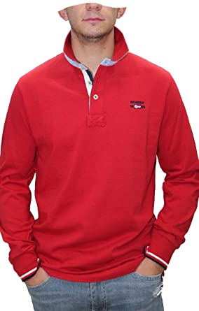 DEVERGO - Polo Hombre Color: 39 Rojo Talla: Size 3XL: Amazon.es ...