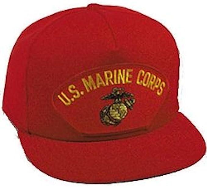 Amazon.com  U.S. Marine Corps Red Ballcap  Baseball Caps  Clothing 1f22bd7e7b2