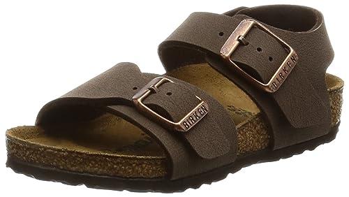 Birkenstock New York - Sandali con Cinturino alla Caviglia Bambino 22538c63ec5
