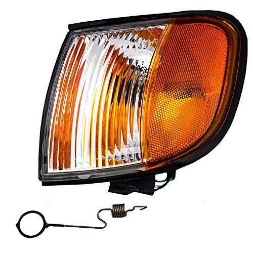 Drivers Park Signal Corner Marker Light Lamp Lens Replacement for Kia SUV 0K08A51070B
