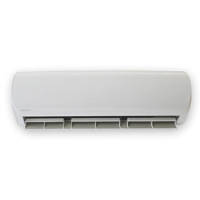 VIESTA Aire Acondicionado Split AC12 - Eficiencia energética - Temporizador - Función deshumidificador - Silencioso (30~40 dB) - 12000 BTU para Espacios de ...