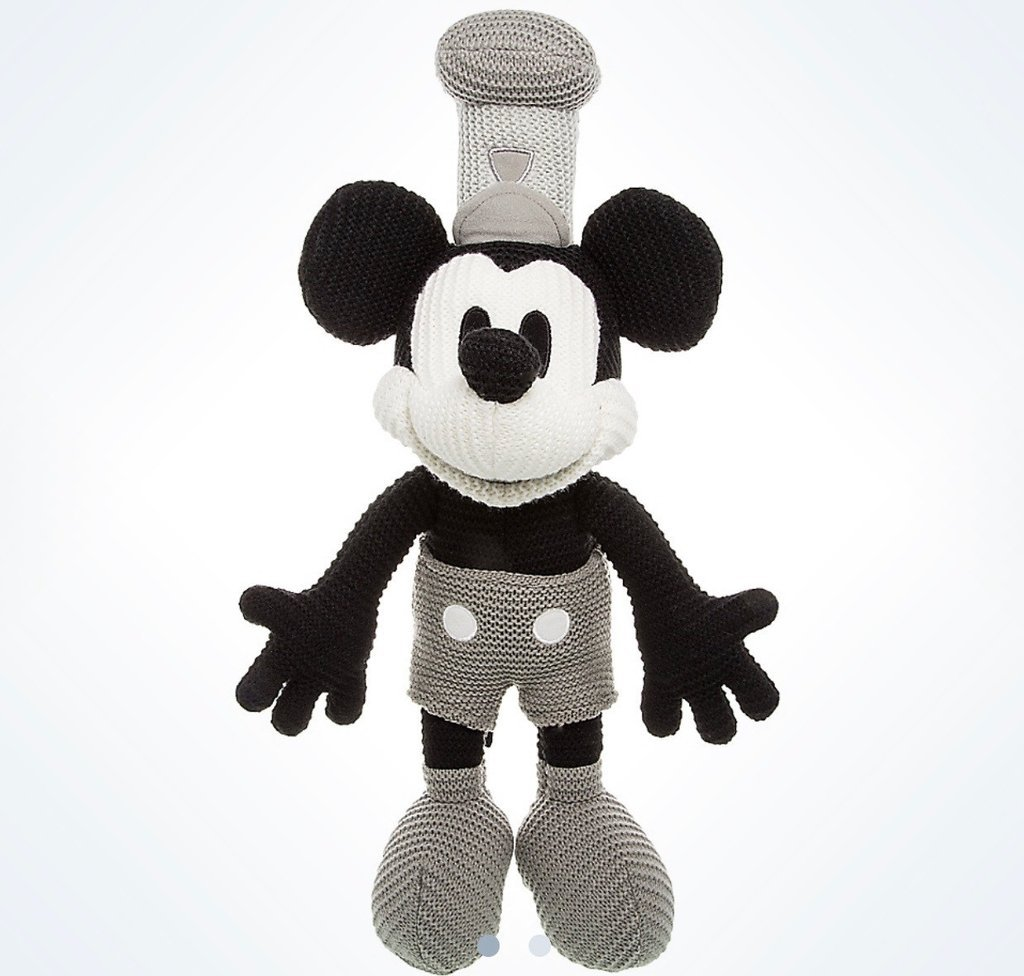 Amazon.com: Disney Parks Steamboat Willie Crochet Knit Mickey Mouse ...
