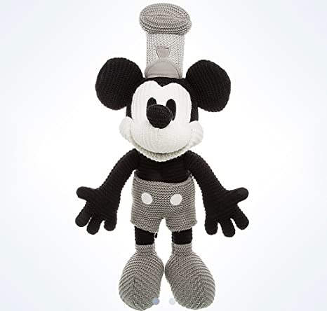 Amazon Disney Parks Steamboat Willie Crochet Knit Mickey Mouse