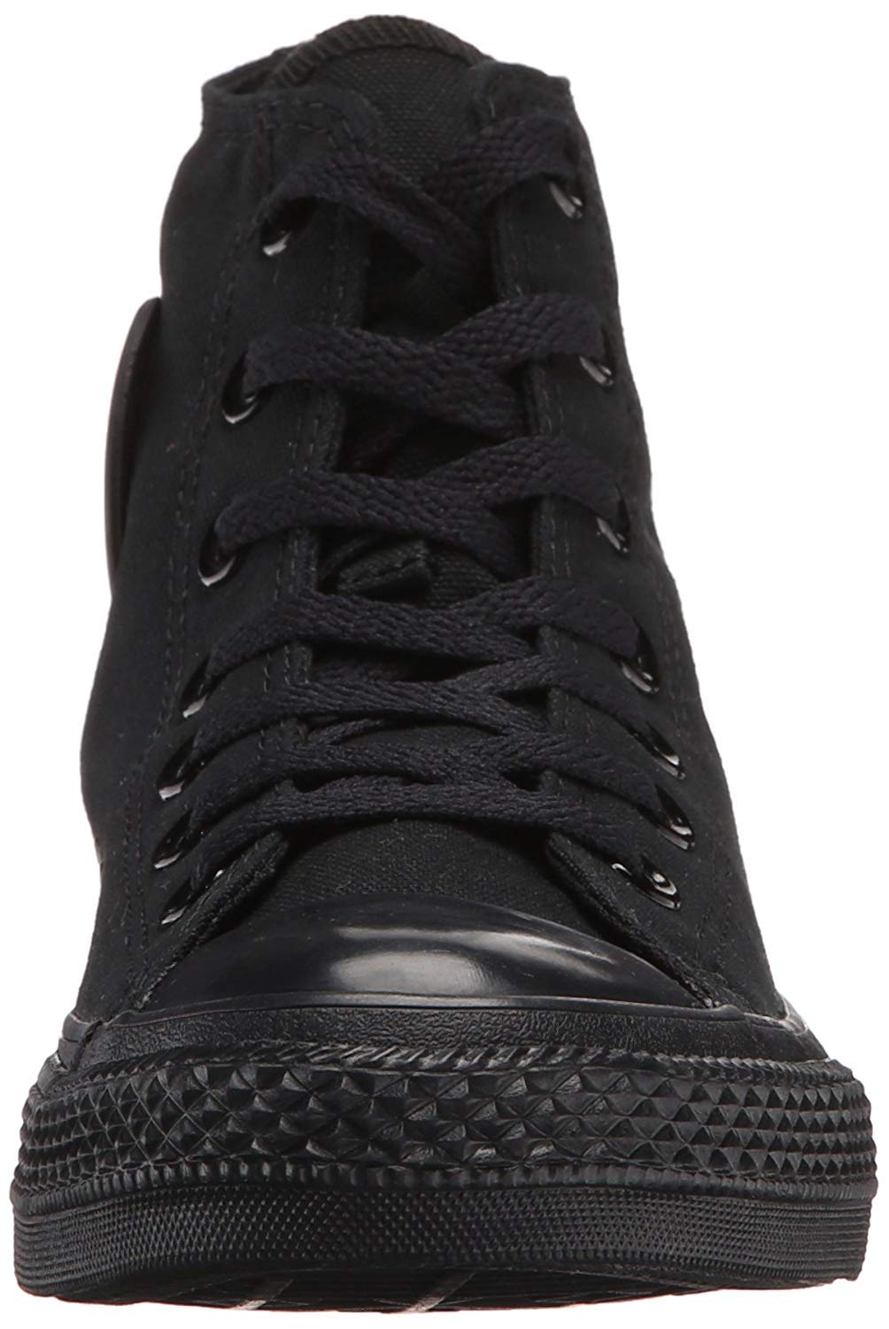 Converse Mens Chuck Taylor All Star High Top, 4.5 D(M) US, Black Monochrome by Converse (Image #2)