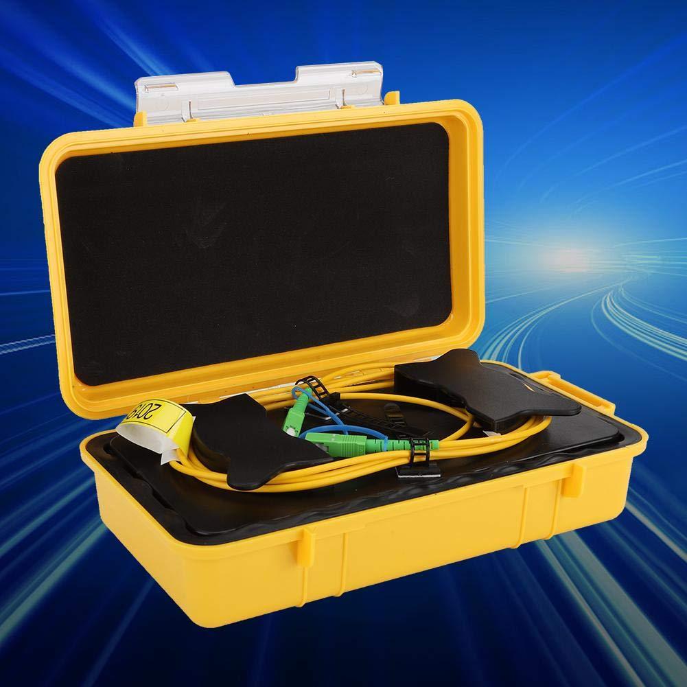 SC//APC-SC//APC SM Bo/îte de c/âble de lancement de fibre optique danneau de fibres mortes dOTRD de fibre optique de 1 km Bo/îte de c/âble de lancement dOTDR