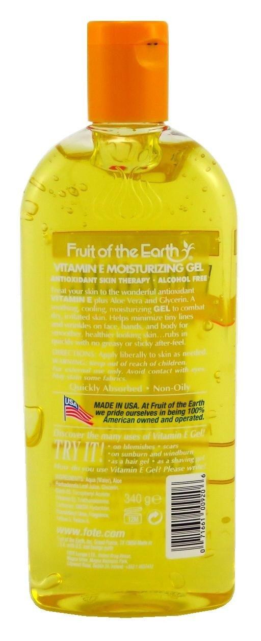 Fruit Of The Earth Vitamin-E Gel 12 Ounce (354ml) (3 Pack)