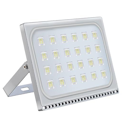 Bianco caldo, 20W Himajie Faretto LED proiettore 10W // 20W // 30W // 50W // 100W // 150W // 200W // 300W // 500W esterno design ultra-sottile e ultra-leggero Impermeabile IP65 luce di sicurezza
