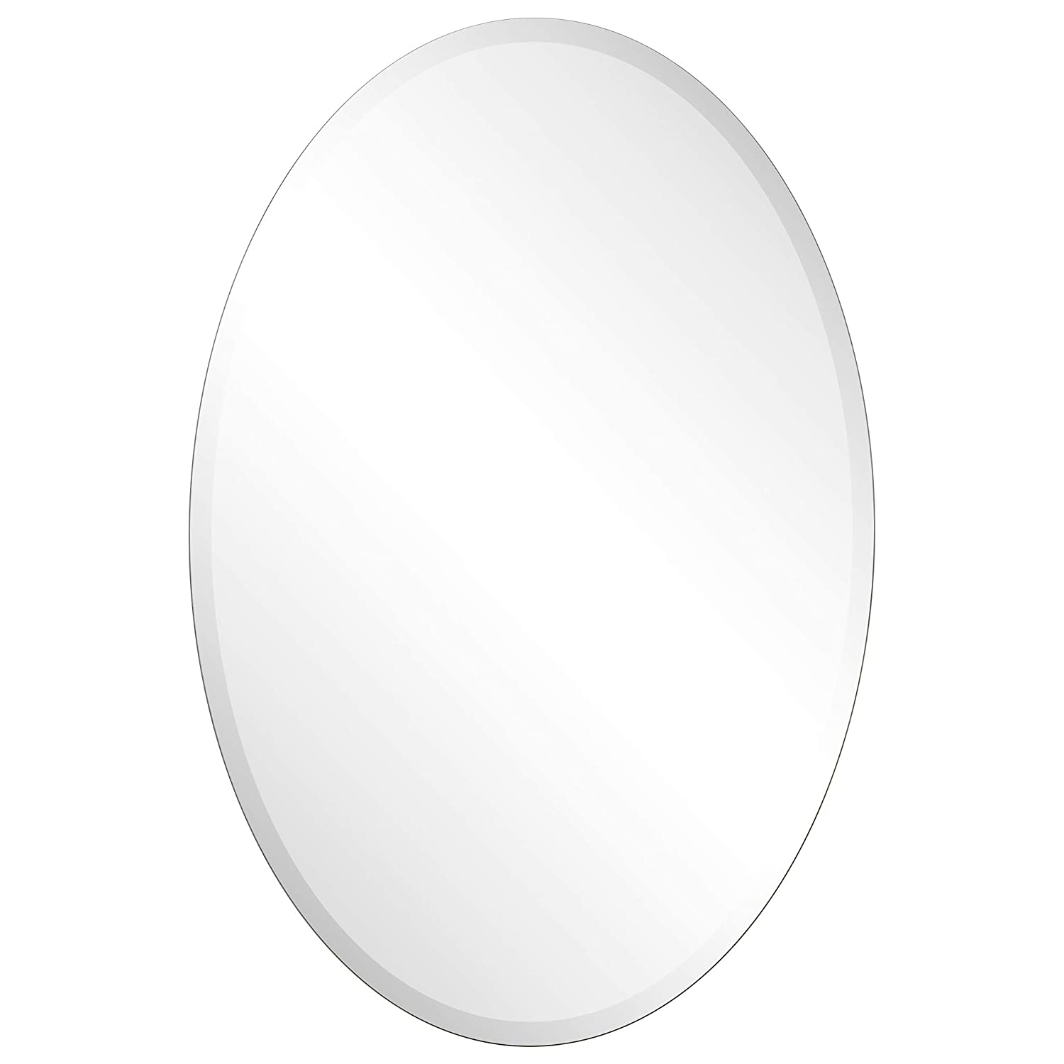 Empire Art Direct Wall-Mounted Modern Mirror 24 in. x 1.57 in. x 36 in. Clear,Champagne