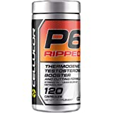 Cellucor P6 Ripped Testosterone Booster For Men + Thermogenic Weight Loss Formula, Build Strength & Lean Muscle, Boost…