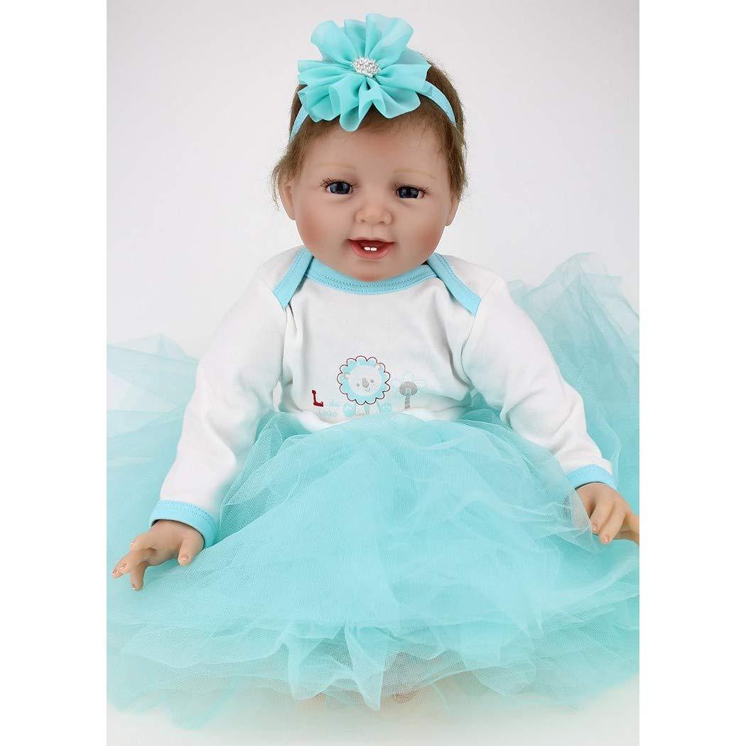 Amazon.es: ZIYIUI 22 Pulgadas 55 cm Lifelike Reborn Bebé Muñecas ...