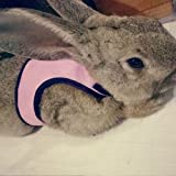 Calunce Soft Rabbits Harness with Leash