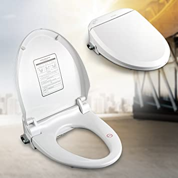 Kinse® Wc-sitz Mit Bidet-funktionen Und Selbstreinigung ... Hi Tech Toilette Mit Wasserstrahl