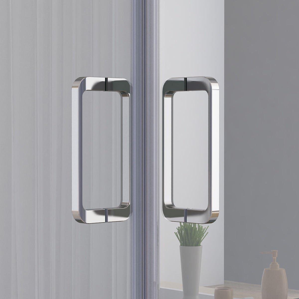 80 x 80 x 195 cm cabinas de ducha redonda ducha Mampara Puerta ...