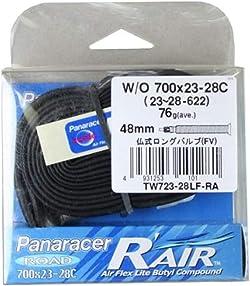 パナレーサー チューブ R'AIR [W/O 700x23~28C] 仏式ロングバルブ(48mm) TW723-28LF-RA