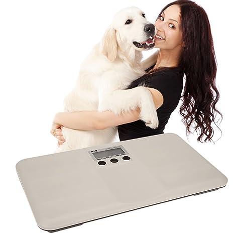 Generic Beige: multifunción digital pantalla LCD de 1.8 pantalla ligero mascota perro gatos escala Mini