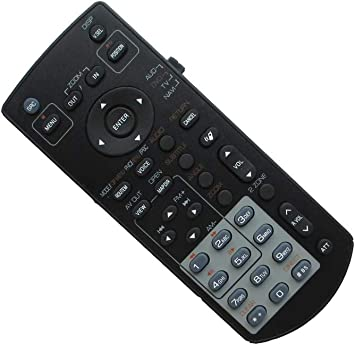 KENWOOD ORIGINAL REMOTE CONTROL MODEL#S DNX5140,DNX6140