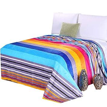 Decke Schlafdecke Kuscheldecke 150 x 200cm grau braun Tagesdecke warm weich neu