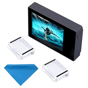 Pantalla LCD de 2 pulgadas para GoPro Hero 4, 3+, 3 y 2, de SupTig, no táctil, con funda impermeable