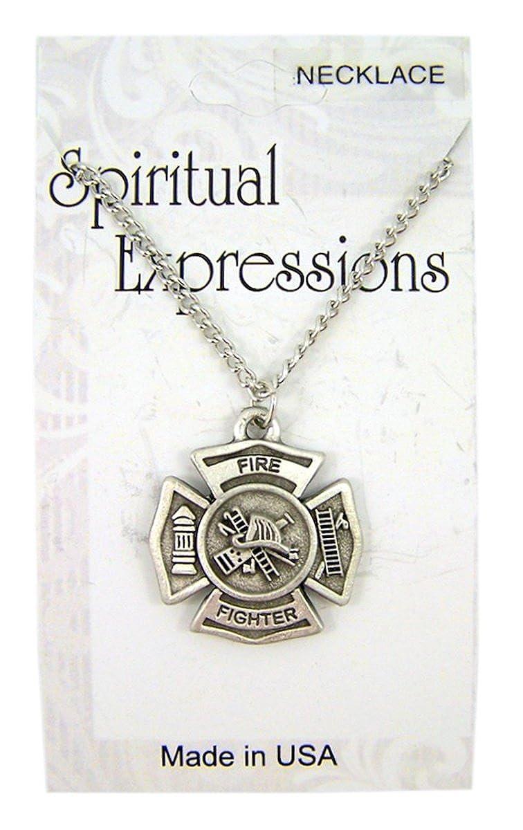 Amazon.com: Espiritual Expressions joyas tono Plata Medalla ...