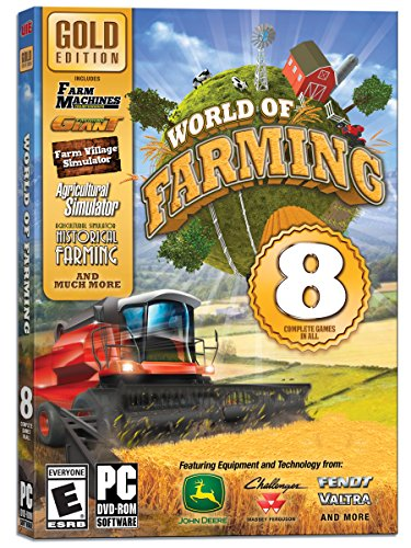 World of Farming: Gold Edition - 8 Complete Games in All (John Deere Video Game)