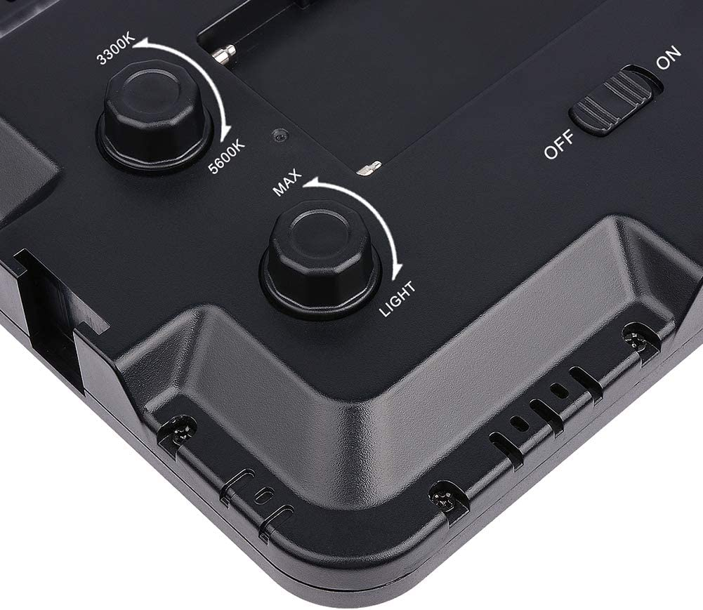 heaven2017 LED Video Light Camera Light Photography Panel Digital Camera//Camcorder Video Light