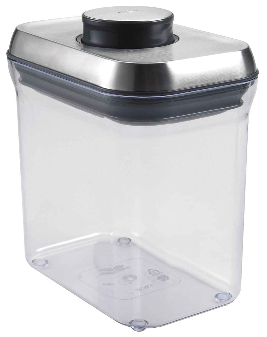 OXO SteeL POP Container – Airtight Food Storage – 1.5 Qt for Snacks and More