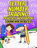 Letter & Number Tracing Practice Workbook & Coloring Book for Ages 3-5