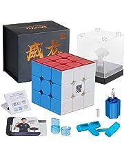D-Fantix Moyu Weilong GTS 3M Speed Cube 3x3x3 Stickerless Magic Cube Puzzle