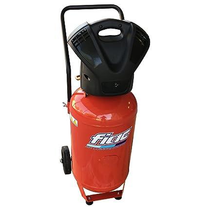 Compresor de aire 50 Lt Fiac F6000/50 V coaxial sin aceite carrellato: Amazon.es: Deportes y aire libre