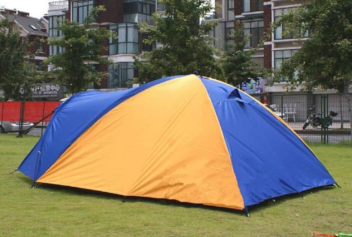 JIE Guo Outdoor Produkte Outdoor Geeignet Verwenden für 3-4 Personen Verwenden Geeignet Sie Das Zelt, EIN Schlafzimmer Outdoor Outdoor Tourism Zelt, Oxford Tuch Wasserdichten Sonnenschutz, Portable Outdoor-Zelt d466fa