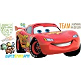 Roommates Cars 2 Peel and Stick Giant Wall Decal (Multi-Color)