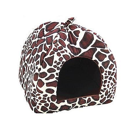 Strawberry ondas de la perrera perro gatos mascotas suministros perro jaulas suave nido casa cama caliente